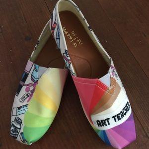 Art Teacher Shoes